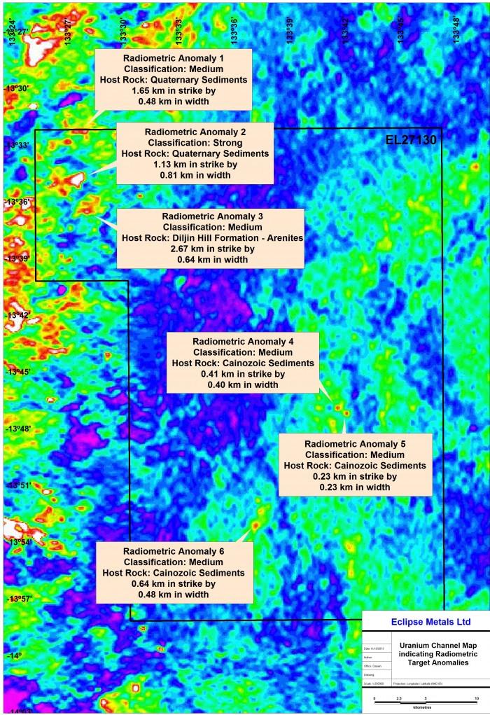 ELA27130 Uranium Map